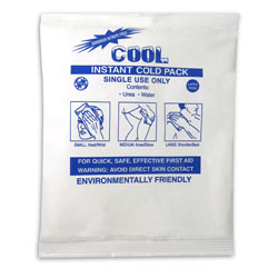 "COOL Instant Ice Pack, 5"" x 7"""