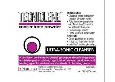 Tecniclene Concentrate Powder Label