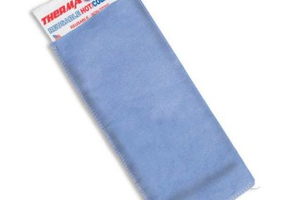 Blue Easy Sleeve Disposable Cover with ThermaKool Hot Cold Pack