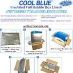 Insulated Box Liner Assembly Instructions