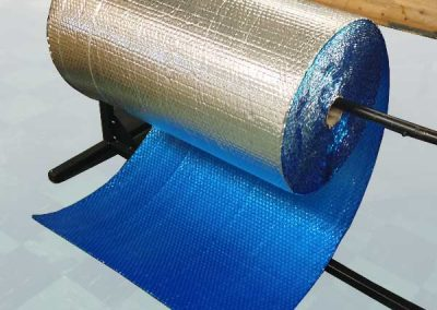 Foil Bubble Roll On Cutting Table
