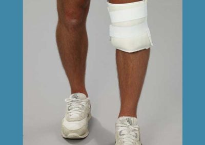 Freedom Wrap Reusable Cover on Knee