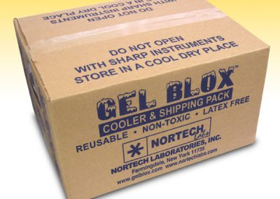 Gel Blox Cold Shipping Packs Case