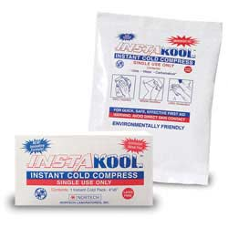 """InstaKool Instant Ice Pack, Size: 5"""" x 6"""" - Boxed"""