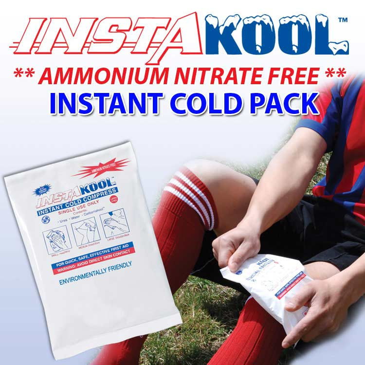 InstaKool Instant Cold Packs