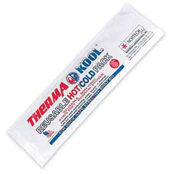 """ThermaKool Reusable Hot Cold Pack, Size: 4"""" x 18"""""""