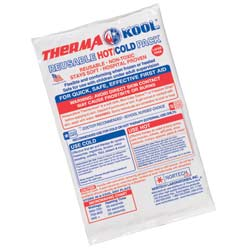 """ThermaKool Reusable Hot Cold Pack, Size: 6"""" x 9"""""""