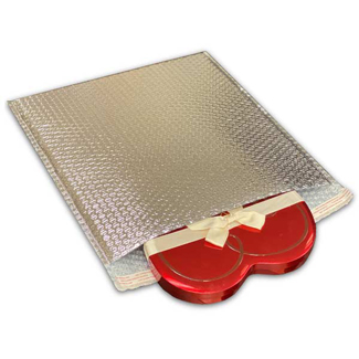 """Foil Thermal Bubble Mailers, 3/16"""""""